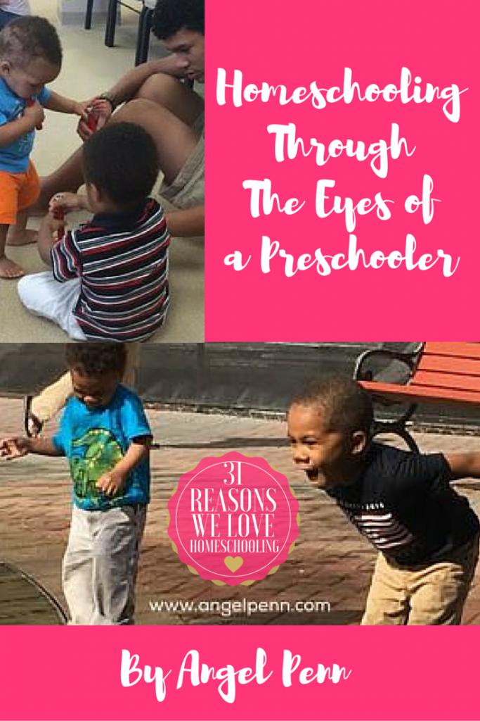 homeschooling a preschooler