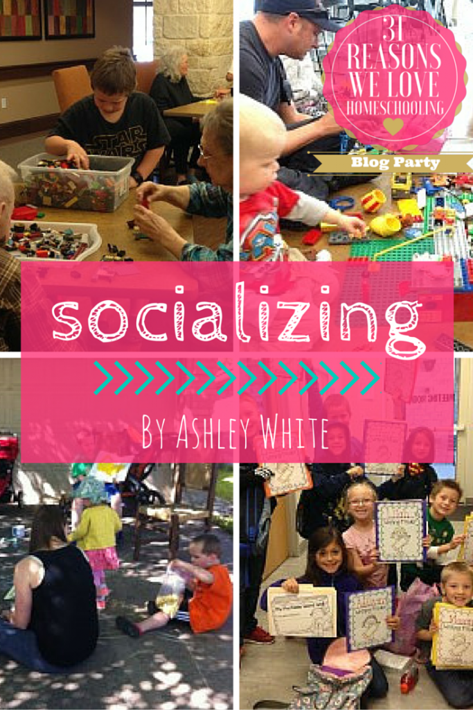 Socializing is the reason I homeschool
