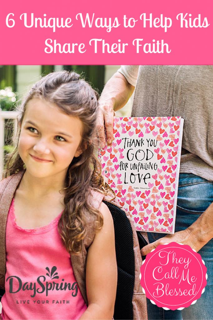 Help Kids Share Their Faith