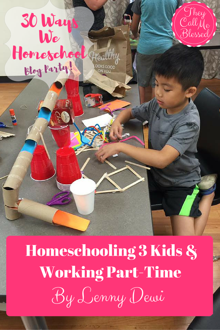 Homeschooling 3 kids