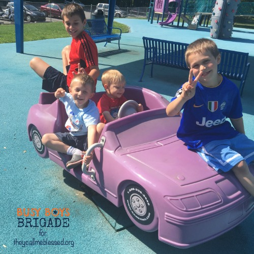 How we homeschool 5 boys and a dog is part of 30 Ways of How We Homeschool, blog part at They Call Me Blessed.