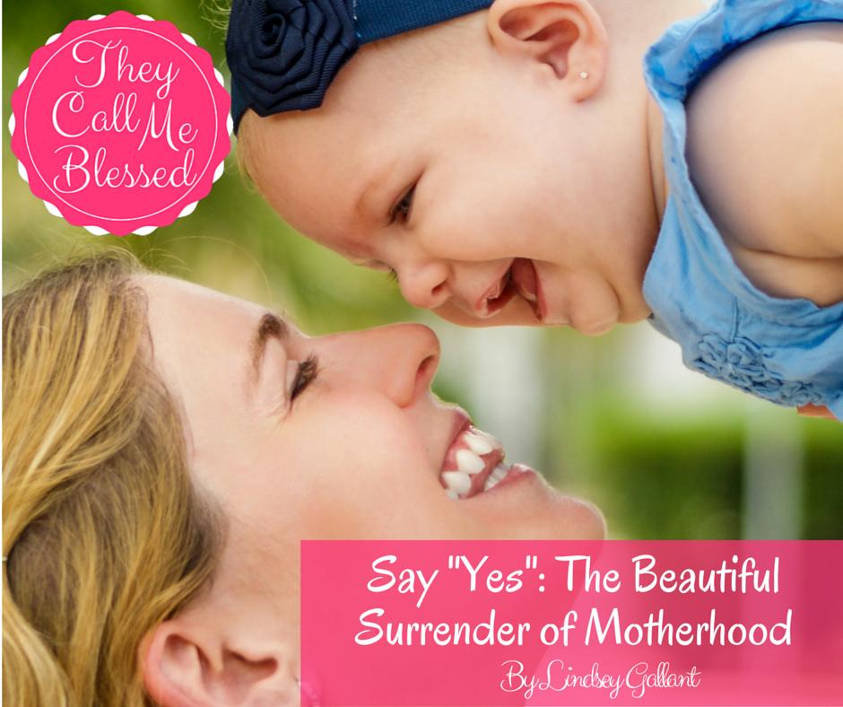 yes to motherhood