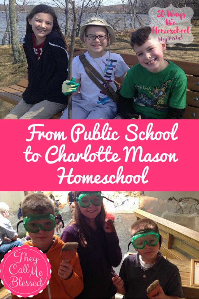 From Public School to Homeschool