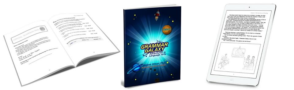 Grammar Galaxy: No more boring grammar lessons in this planet! Language Arts   English   Vocabulary   Punctuation   Charlotte Mason