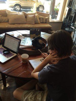 teacher turned homeschooler