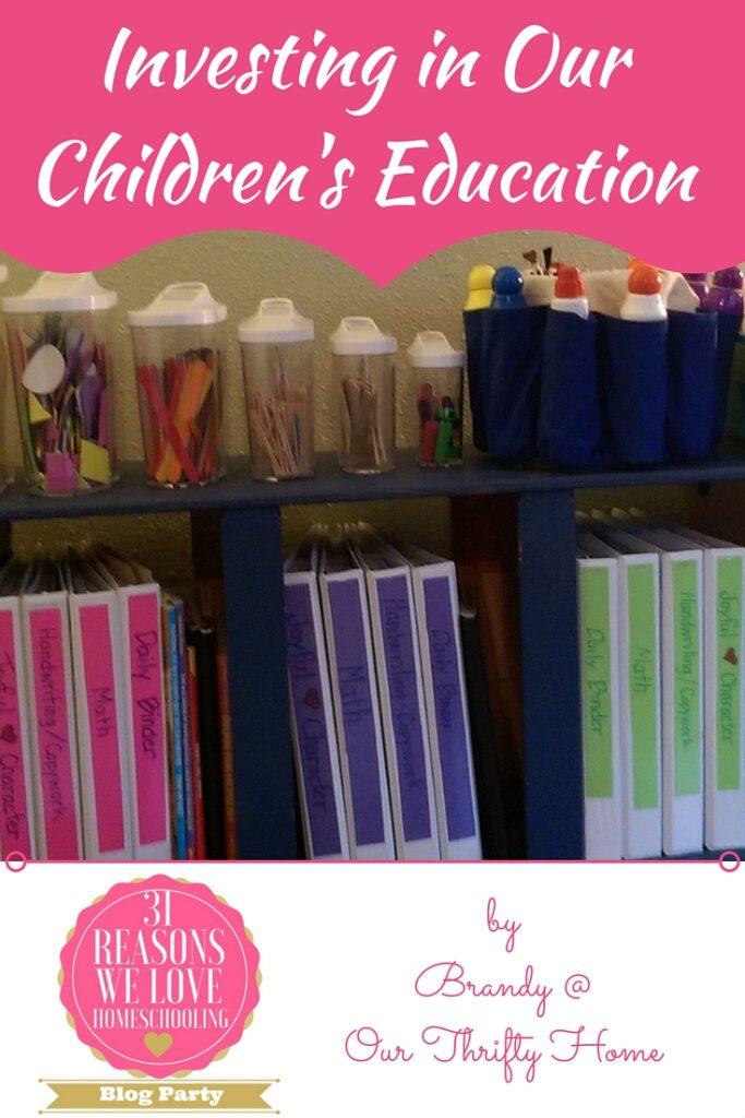 31 Reasons We Love Homeschooling Blog Party