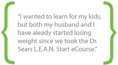 Dr. Sears L.E.A.N. Start Online