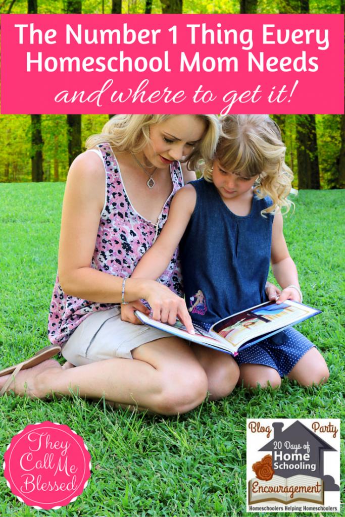 every homeschool mom needs