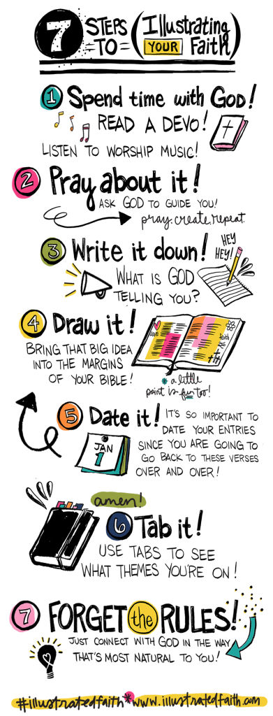 Illustrated Faith 7 Steps