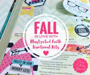 Fall in Love with Illustrated Faith Devotional Kits