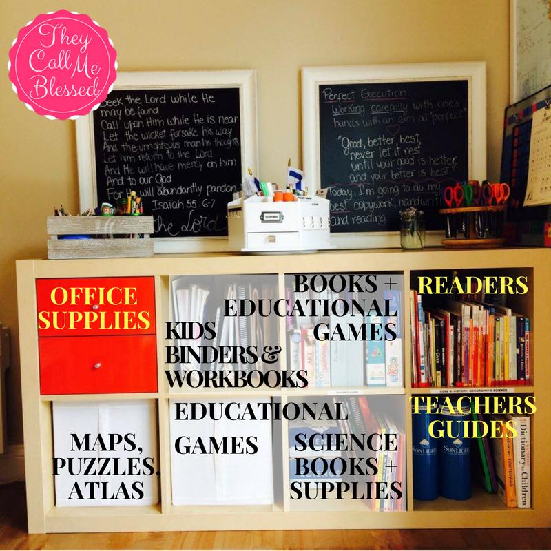 Organize Your Homeschool Space