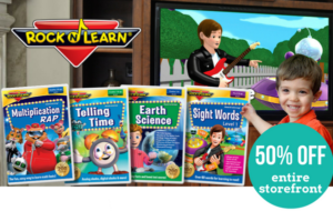 Let Your Kids Rock 'N Learn Back To Homeschool