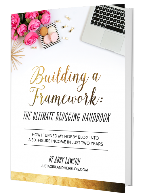 Ultimate Mom Blogger Abby Lawson - Building a Framework: The Ultimate Blogging Handbook - Monetize Your Blog