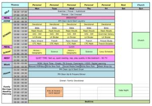 Freebies - How to Create Your Ideal Week   Time management   Routines   Create a schedule that works   schedule templates   schedule printables   busy mom schedule printable   create margins in your schedule