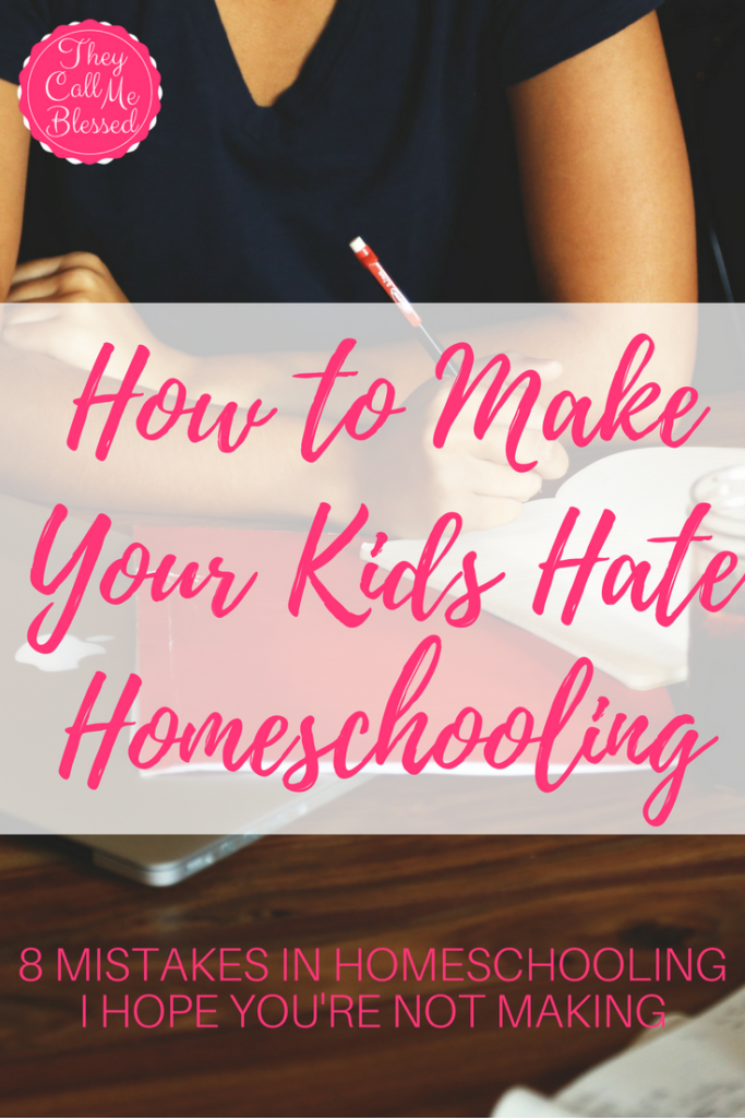 How to Make Your Kids Hate Homeschooling