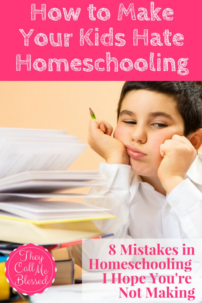 #3 Top Homeschool Post in 2016: How to Make Your Kids Hate Homeschooling