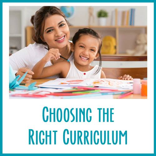 How To Choose The Right Homeschool Curriculum For Your Family. Learn 3 vital tips from Amy Michaels from Thrive Homeschooling blog to a no-regret curriculum choice this year!