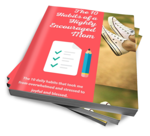 10 Habits of a Highly Encouraged Mom: The 10 daily habits that took me from overwhelmed and stressed to joyful and blessed.
