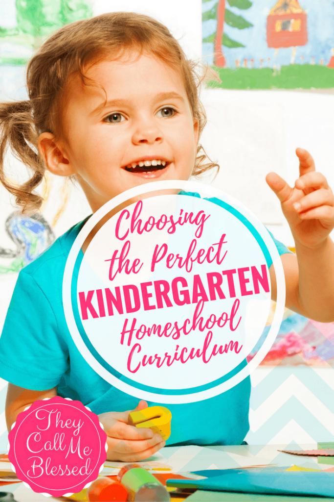 Need ideas for the perfect Kindergarten Homeschool Curriculum?