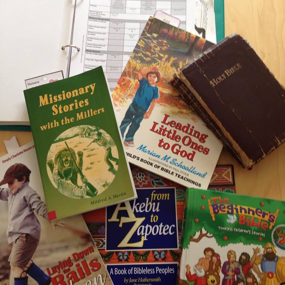 Raising Mission Minded Kids: Our Sonlight Morning Books
