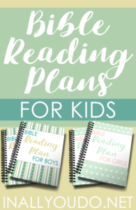 Bible Reading Plans for Kids Freebie | Bible Printable for Kids | Bible Reading for Kids | Free Bible Reading for Kids