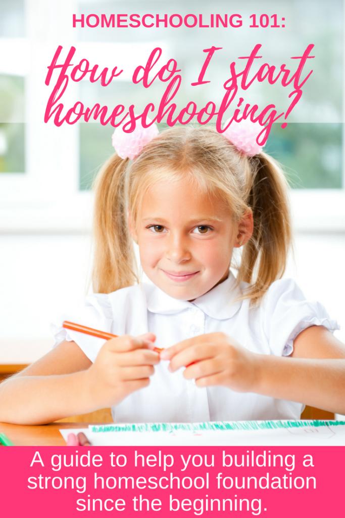 Help! How do I start homeschooling-