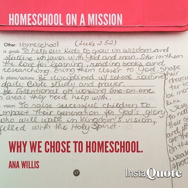 How To Start Homeschooling: Our Homeschool Mission Statement
