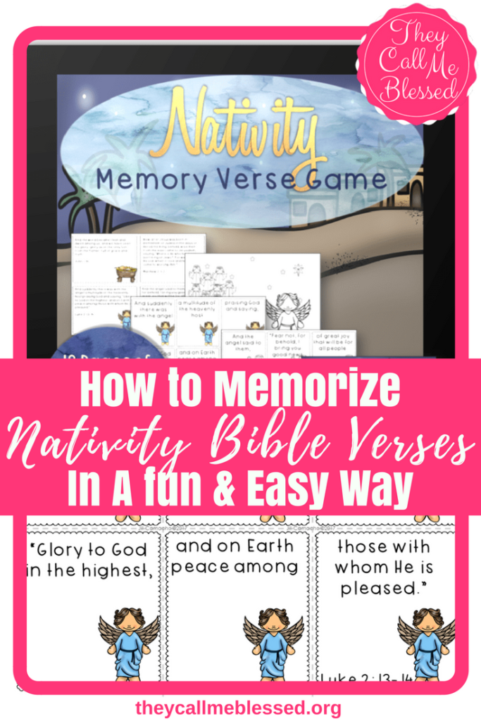 How to Memorize Nativity Bible Verses In A fun, Easy Way. Are you looking for a fun way to memorize verses while keeping Christ at the center of your Christmas celebrations? I've got a great game to do just that