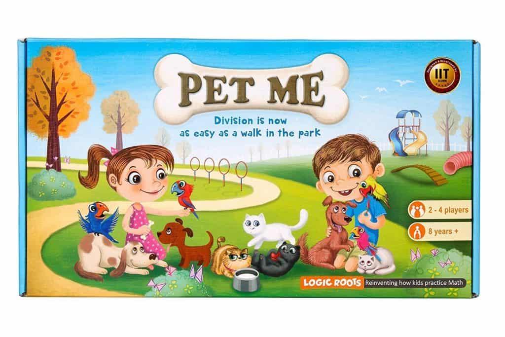 Homeschool Math: Pet Me math game.