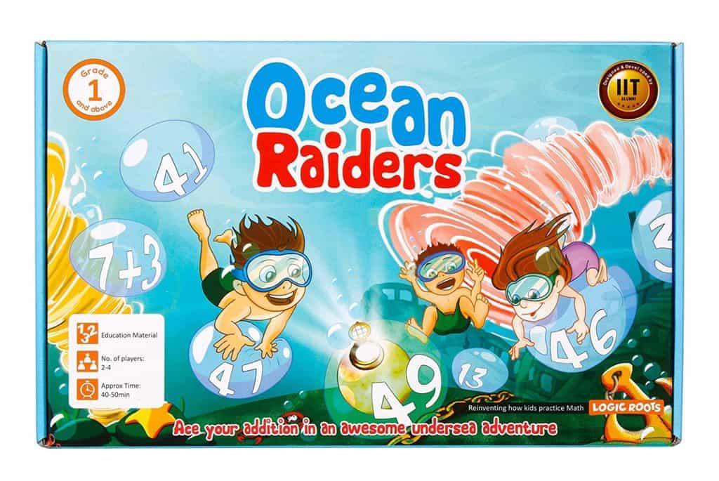 Homeschool Math: Ocean Raiders Math Game.