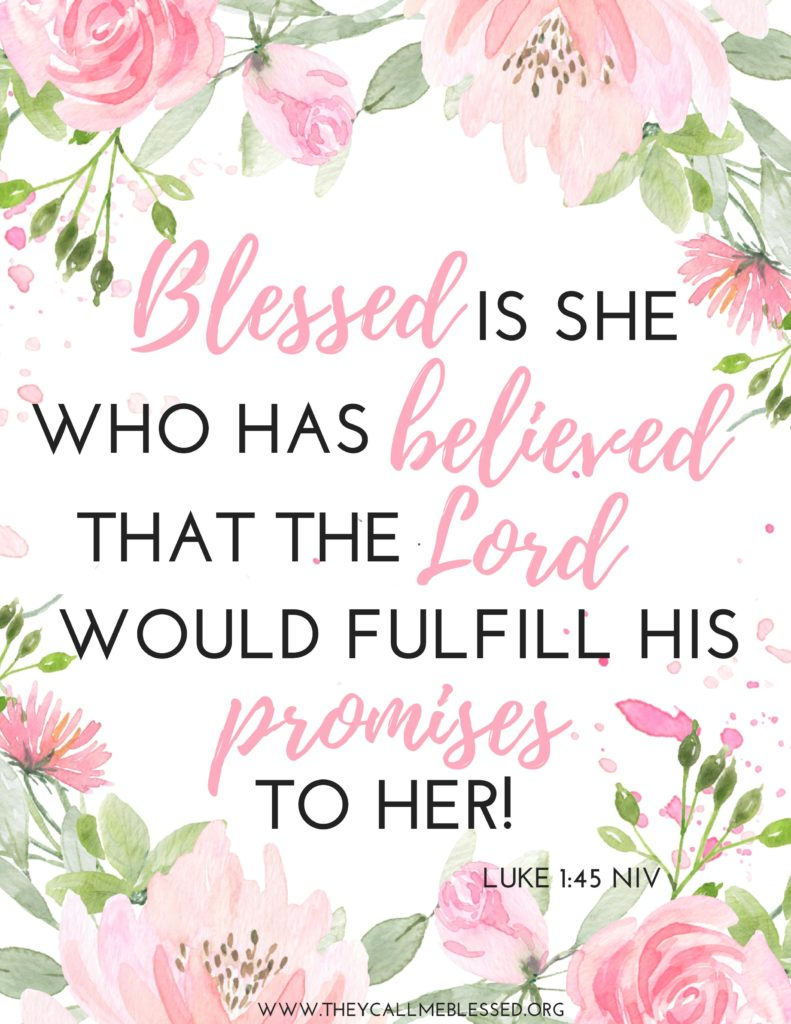 Beyond Blessed Scripture Study Journal - Bonus poster.