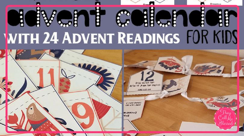 Advent Calendar for Kids
