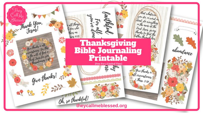 Free Thanksgiving Bible Journaling Printable   Gratitude Bible Journaling Printable   Gratitude Journal   Gratitude Printable   Thanksgiving Printable