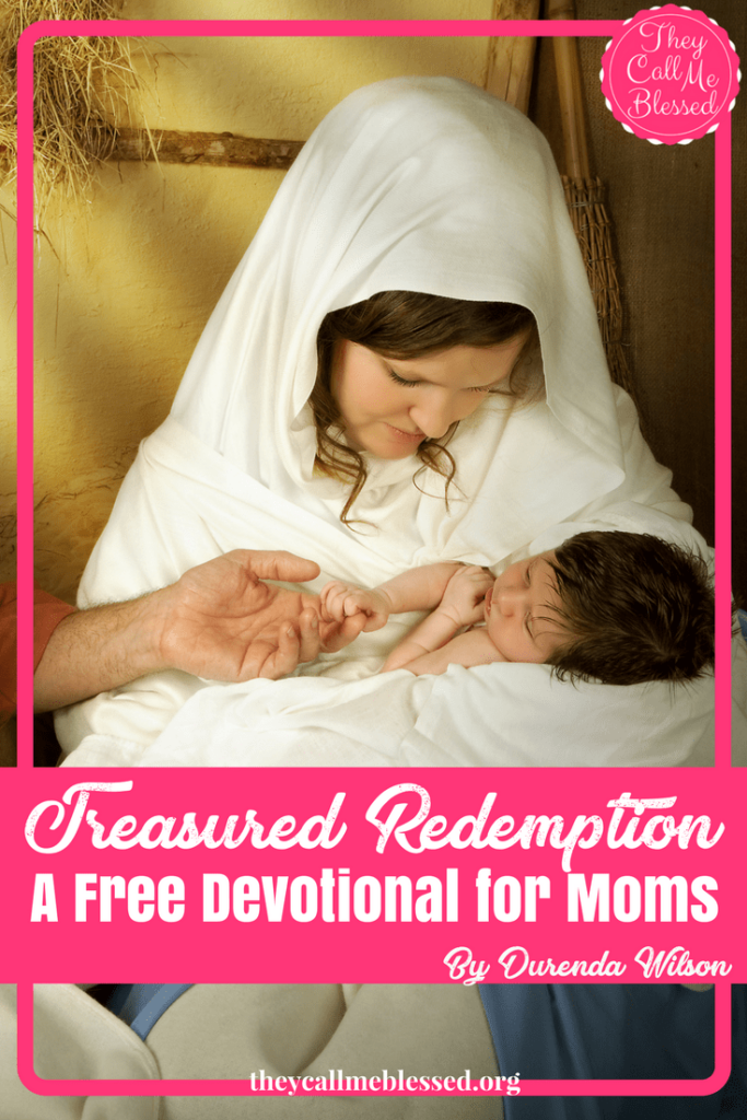 Treasured Redemption - A Christmas Devotional for Moms