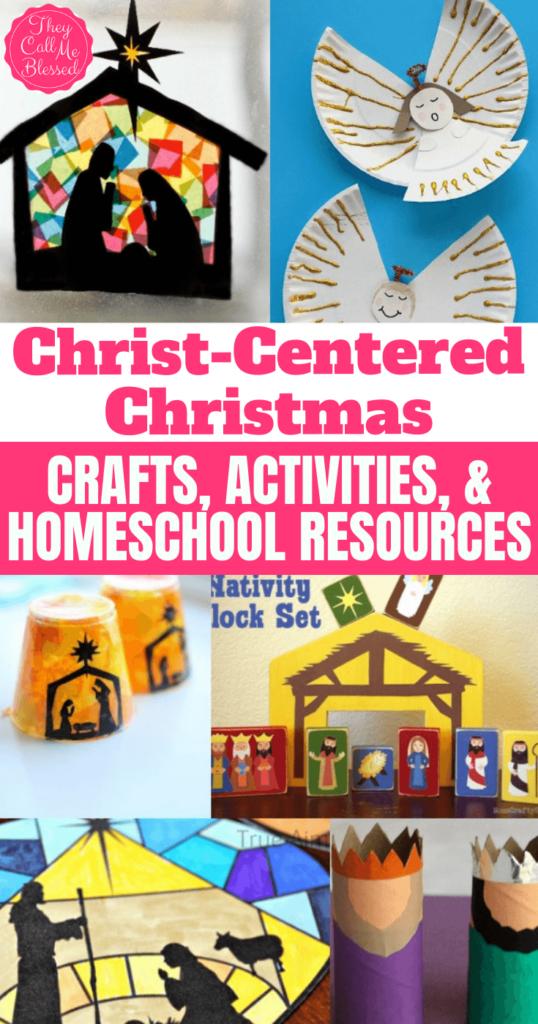 Christ-centered Christmas Crafts, Activities, & Homeschool Resources