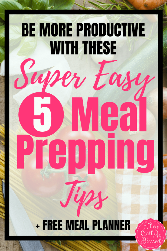 How To Be More Productive With These Super Easy Meal Prepping Tips