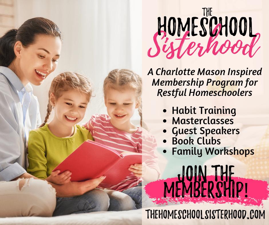 The Homeschool Sisterhood Membership