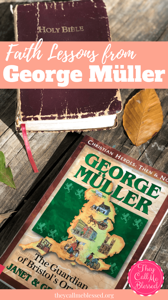 George Müller: Christian Heroes Then & Now Series.
