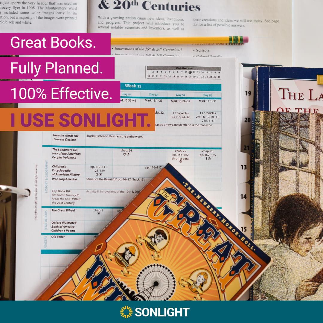 I use Sonlight Curriculum