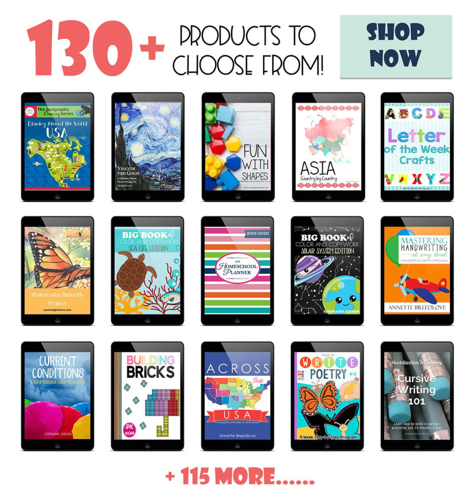 Save 90% on Homeschool Curriculum with Build Your Bundle 2020