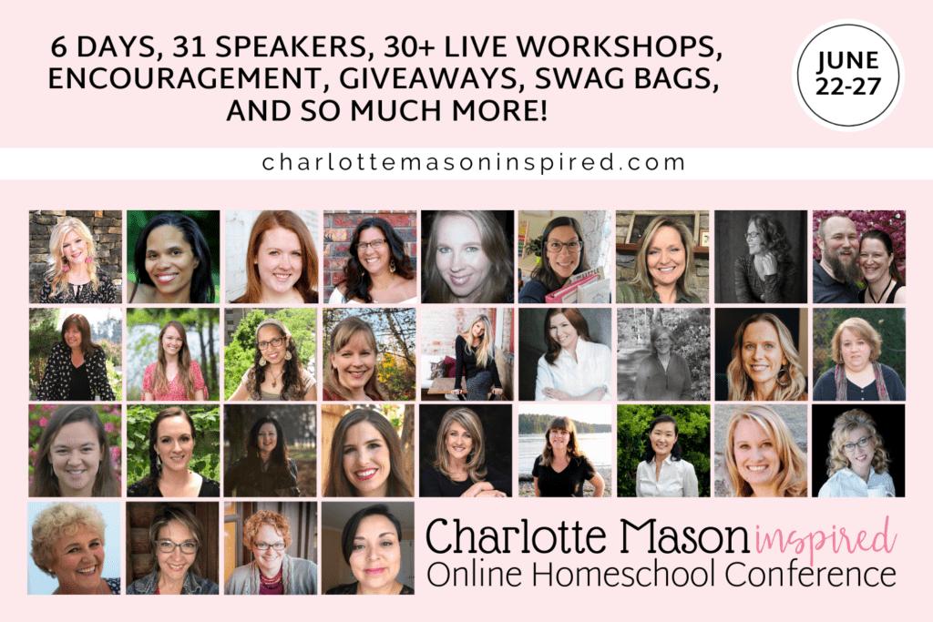 Charlotte Mason Inspired Online Homeschool Conference