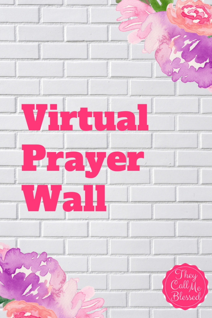 Virtual Prayer Wall January