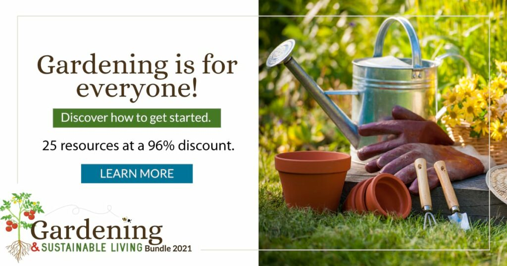 Gardening and Sustainable Living