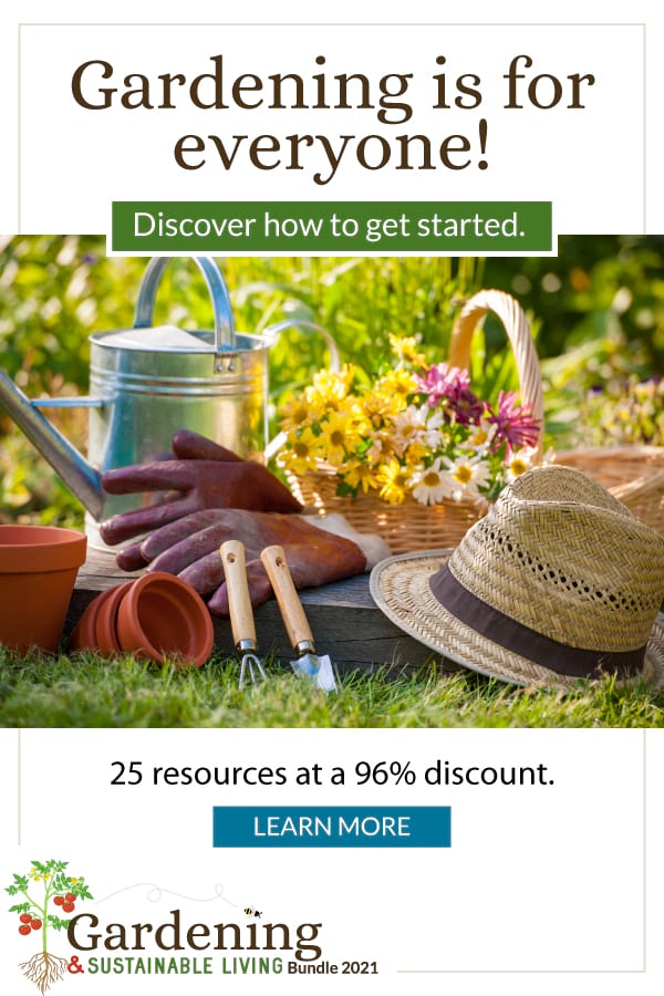 Gardening & Sustainable Living Bundle